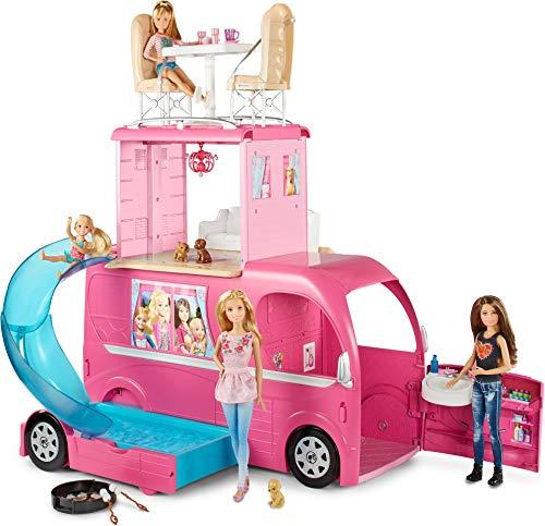 Barbie pop up camper set