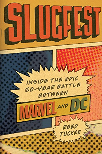 battle between marvel and DC book