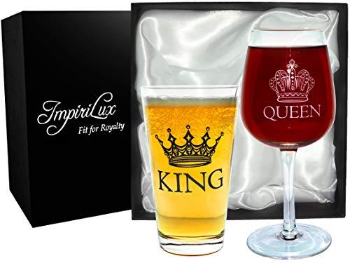 beer wine glass set