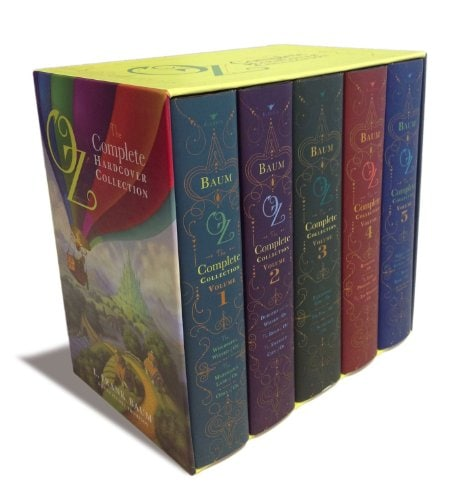 book collection of Oz