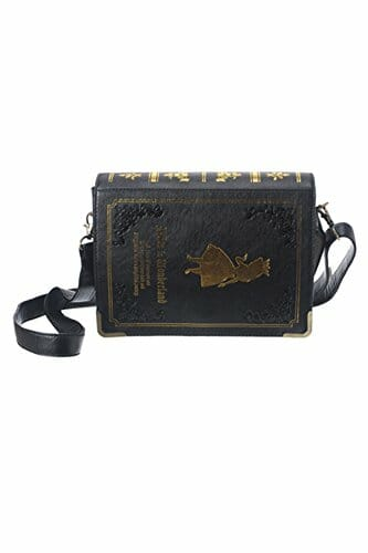Book shaped crossbody bag