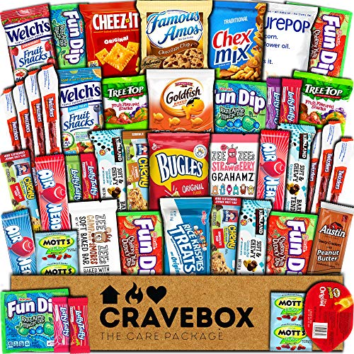 box of snacks