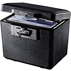 box with key lock