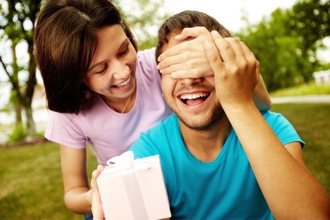 surprise for a boyfriend