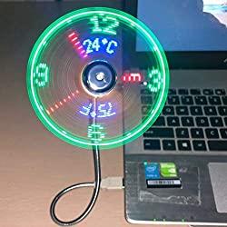 breis USB clock fan