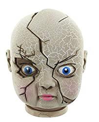 broken doll head collectible