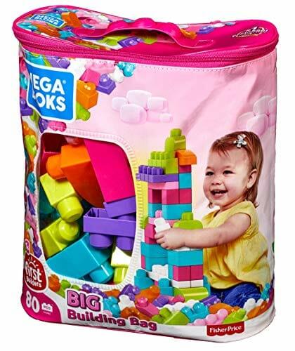building blocks toy bag
