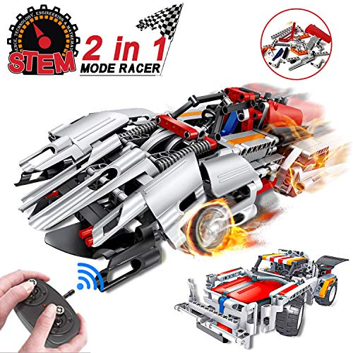building toys remote control race