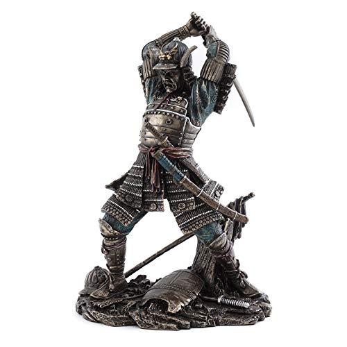 Bushido samurai statue