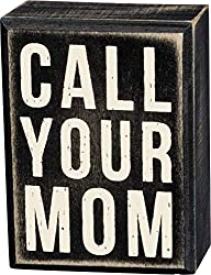 call your mom box sign