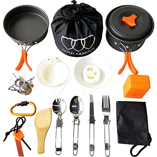 camping cookware mess kit