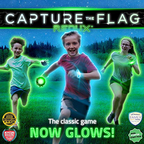 capture the flag nighttime outdoor game