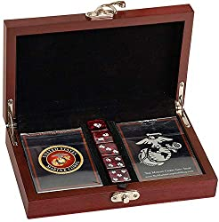 cards with dice gift set
