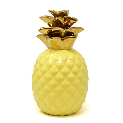 ceramic pineapple centerpiece