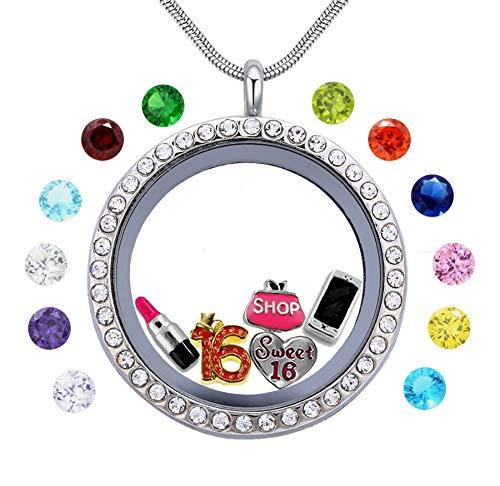 charm lockets necklace