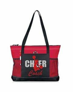 Cheer coach red bag