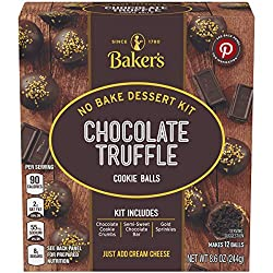 chocolate truffle cookie balls kit