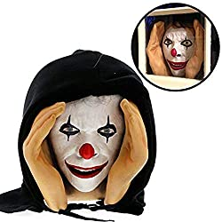 clown face window prop