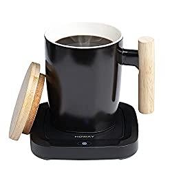 coffee warmer and mug