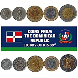 collectible dominican republic currency set