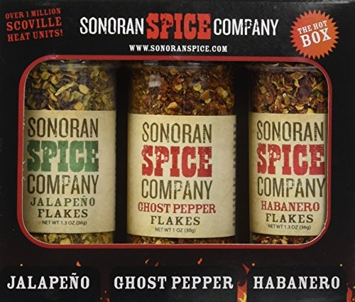 collecting pepper spices
