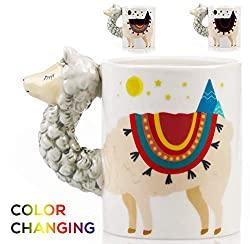 color changing 3d coffee mug