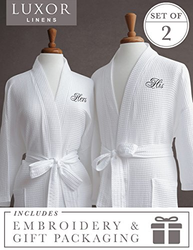 cotton waffle robe