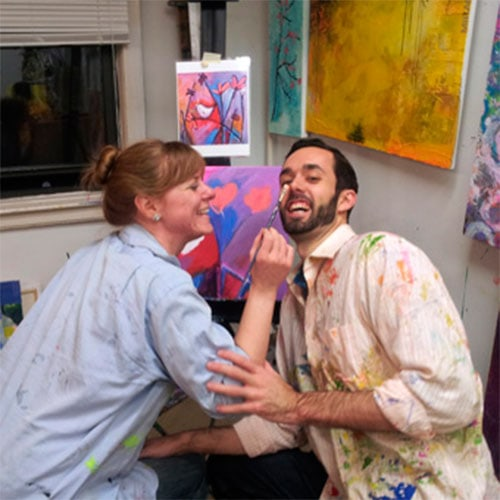class of painting for couples-NY