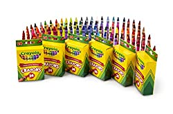 crayons 6 pack