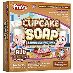 cupcake soap and bubbles science kit