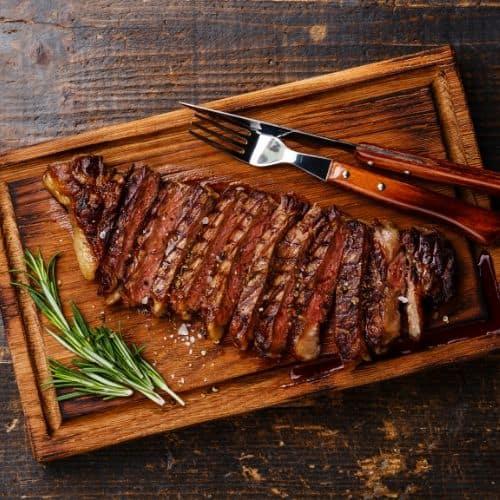 butcher's cutting board