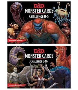 D&D monster cards