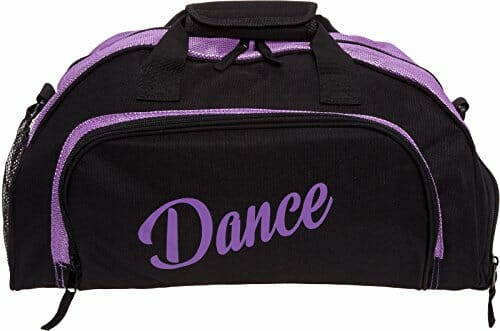 dance themed clothes bag