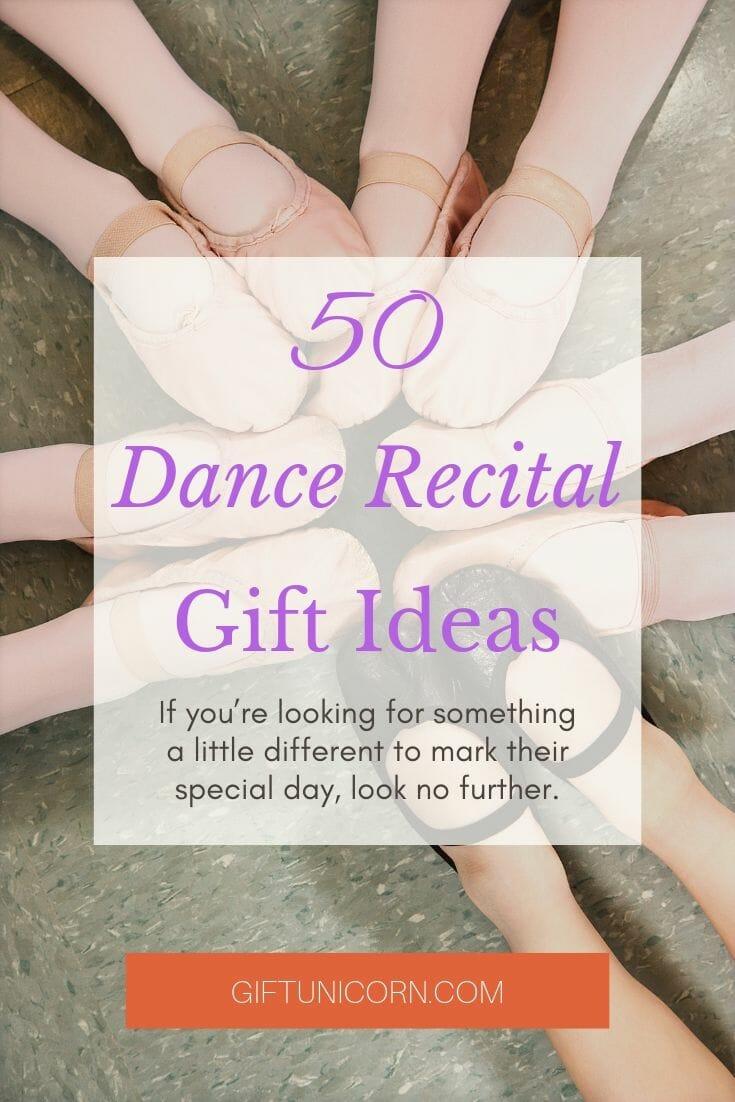 50 Dance recital gift ideas