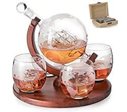 decanter whiskey globe