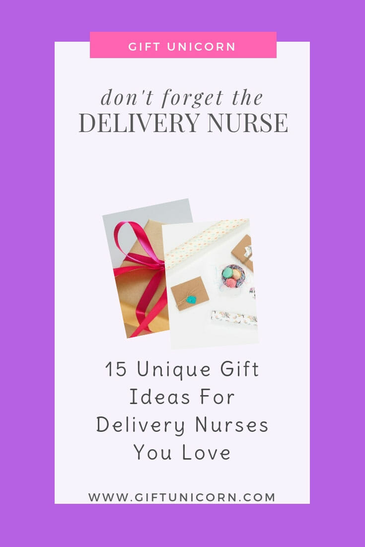 delivery nurses gift ideas pin image