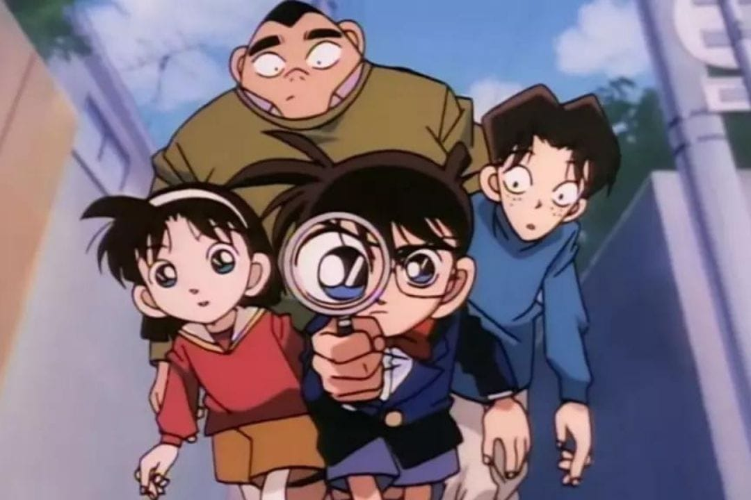 detective conan and his friends