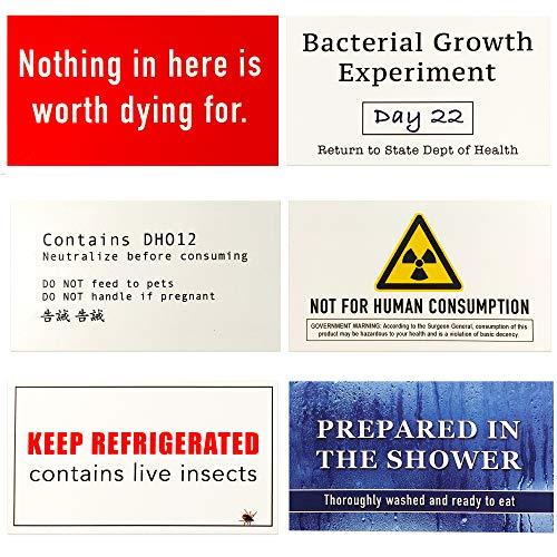 deterrent labels