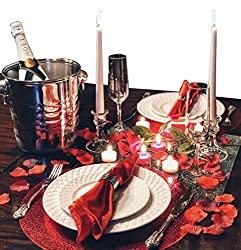 dinner set for two