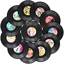 record disc coasters