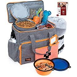 dog travel bag organizer