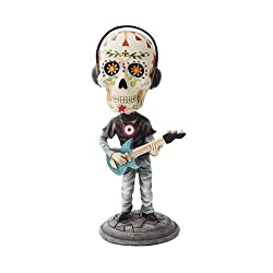 electric bass player bobblehead