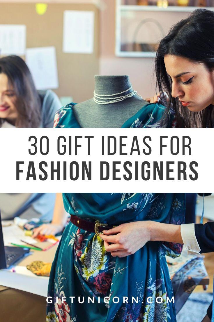 fashion designer gifts pin image