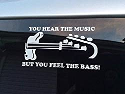 feel the bass decal