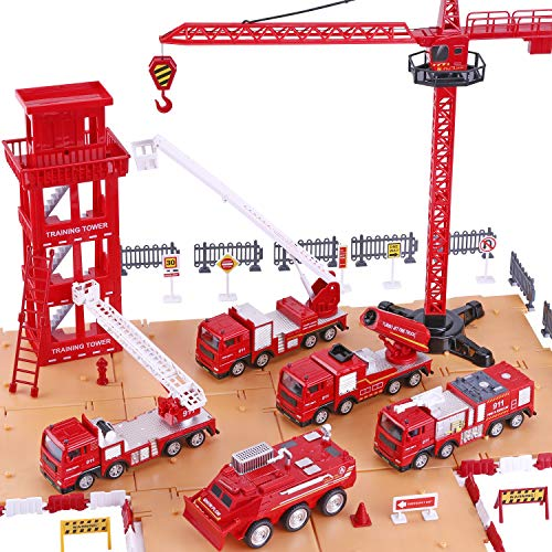 fire truck play set
