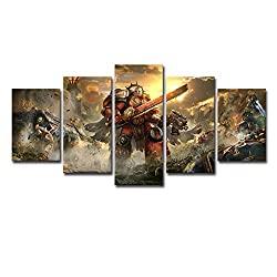 five panel HD print