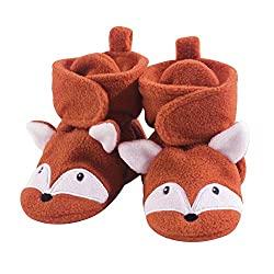 fleece booties