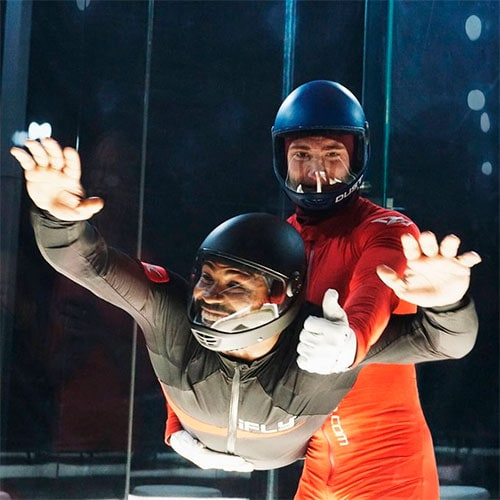 fly indoor skydiving