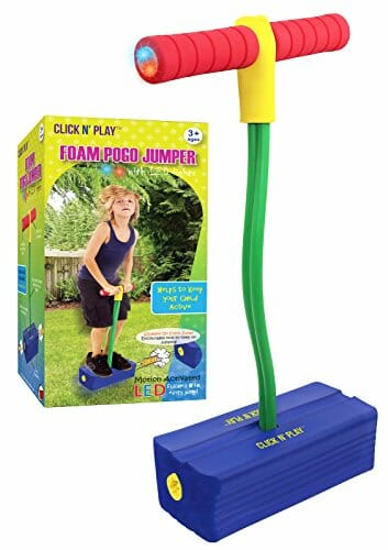 foam based pogo stick
