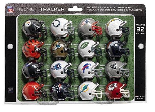 football helmet playoff tracker